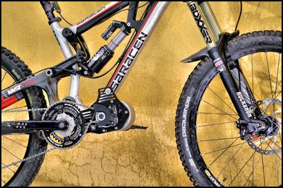 motor under frame