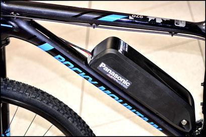 bici elettrica delle coperture della batteria