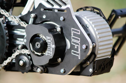 engine for mountain bike