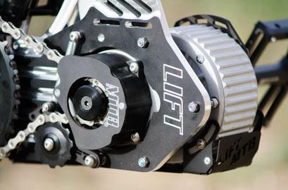 motore per mountain bike