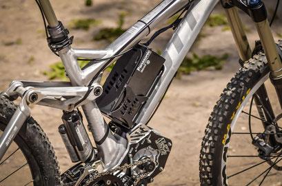 batteria telaio bici elettrica