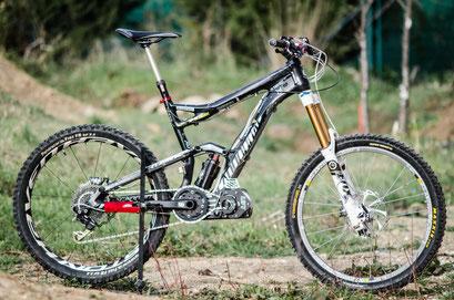 motore elettrico per mountain bike