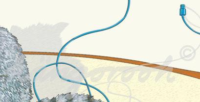 Postkarte Detail 2: moritz/ köngorooh / 2020
