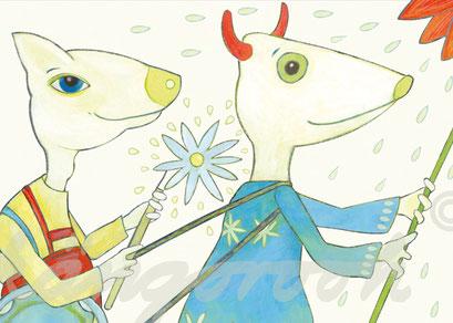Plakat Detail: die Freunde / kängorooh / 2016