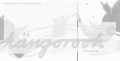 Postkarte Rückseite: mia und die nashörner / köngorooh / 2020