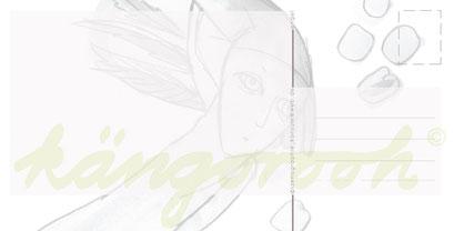 Postkarte Rückseite: engel /kängorooh/ 2016