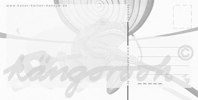 Postkarte Rückseite: benedikt / köngorooh / 2020