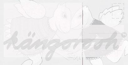 Postkarte Rückseite: die engel /kängorooh/ 2016