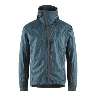 Ansur Hooded Wind Jacket M's Midnight Blue