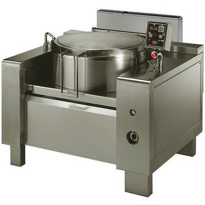 Hochleistungskochen Gaskochkessel mit Rührwerk, 150 Liter
