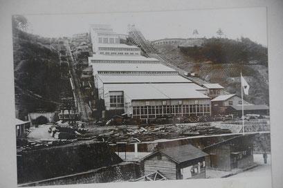 当時の写真(鉱山資料館)
