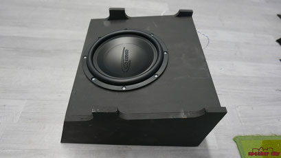 ARC 8 Subwoofer in der T6 Box