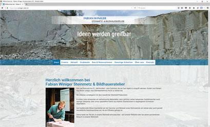 Fabian Winiger Steinmetz, Hombrechtikon