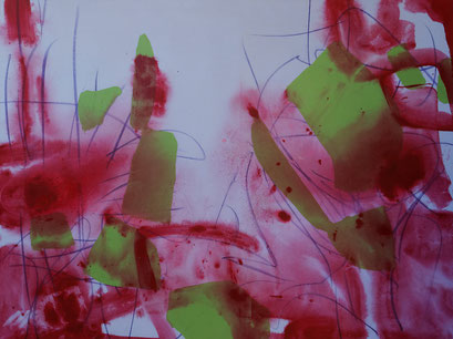 3.  acrylique sur toile, 130 x 97 cm.