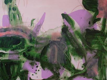 4.  acrylique sur toile, 130 x 97 cm.