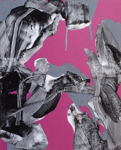 12. acrylique sur toile, 100 x 81 cm.