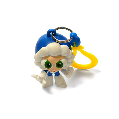 Rockman Backpack Hangers (Ice Man)