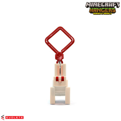 Minecraft Backpack Hangers Series 5 (White Rabbit)
