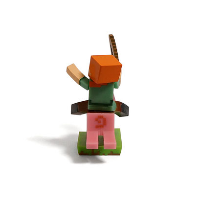 Minecraft Craftable Diorama Figures (Pig Raider)