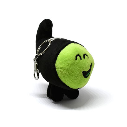 Jelly Jamm Plush Key-Chain (Dodo / Green)
