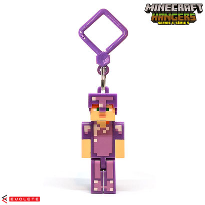 Minecraft Backpack Hangers Series 5 (Enchanted Armor Alex)