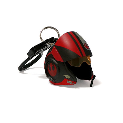 Star Wars Helmet Bag Clips (Poe Dameron)