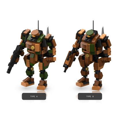 MyBuild Sci-Fi Series (Sergeant)