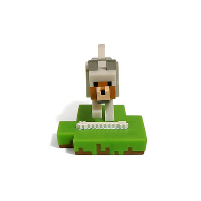 Minecraft Craftable Diorama Figures (Wolf)