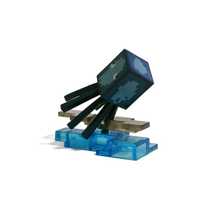 Minecraft Craftable Diorama Figures (Squid)