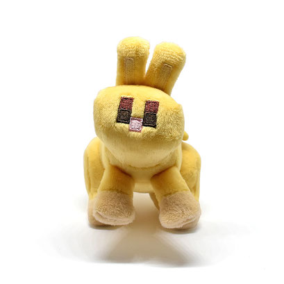 Minecraft Clip Plush (Baby Yellow Bunny)