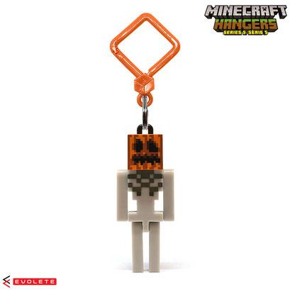 Minecraft Backpack Hangers Series 5 (Pumpkin Head Skeleton)