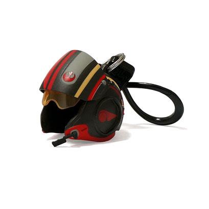 Star Wars Helmet Bag Clips (Poe Dameron)