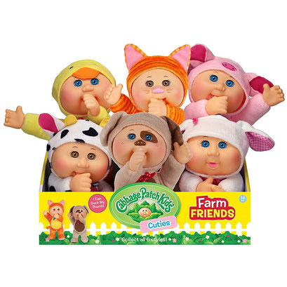 Cabbage Patch Kids Farm Friends Cuties