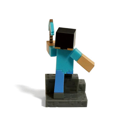 Minecraft Craftable Diorama Figures (Steve?)