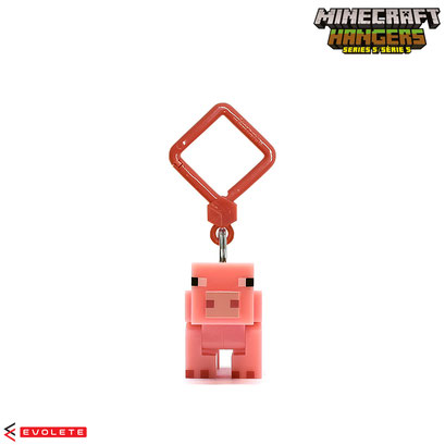 Minecraft Backpack Hangers Series 5 (Saddle Pig)