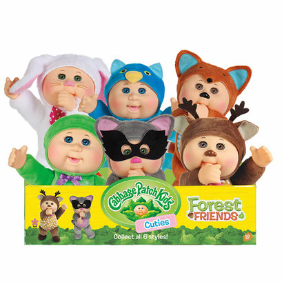 Cabbage Patch Kids Forest Friends Cuties