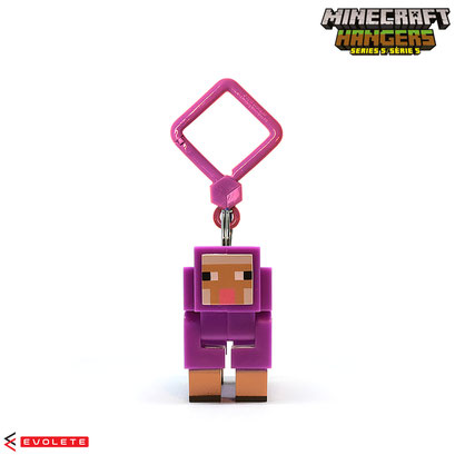 Minecraft Backpack Hangers Series 5 (Purple Sheep)