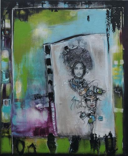 Acrylic on Canvas, 115x95cm