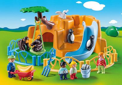 Parc animalier - Playmobil 123