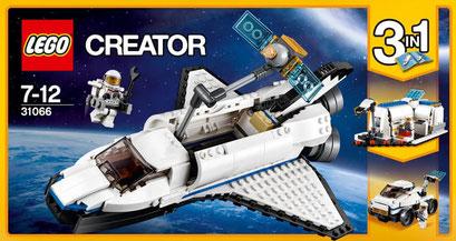 Lego Creator : la navette spatiale