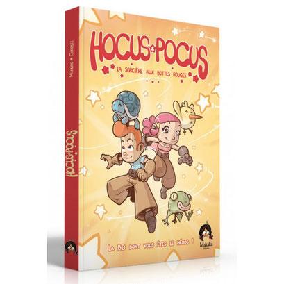 BD dont vous êtes le héros : Hocus & Pocus