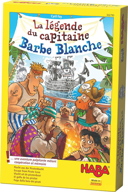 La légende du capitaine Barbe-Blanche