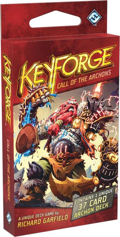 Keyforge - l'appel des archontes (decks supplémentaires)