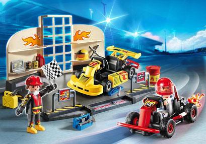 Playmobil : l'atelier de karting