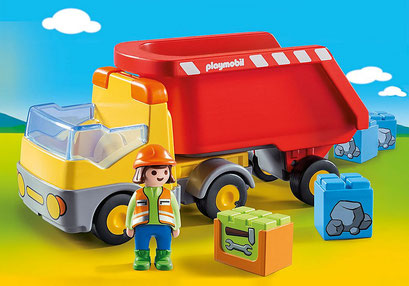 Playmobil 123 - Camion benne