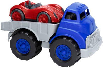 Green Toys - Dépanneuse avec voiture de course