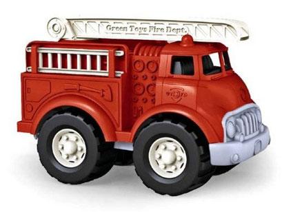 Green Toys - Camion de pompier