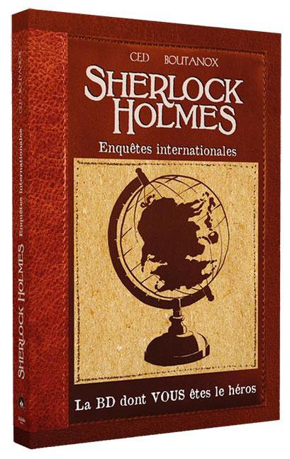 BD dont vous êtes le héros - Sherlock Holmes, enquêtes internationales