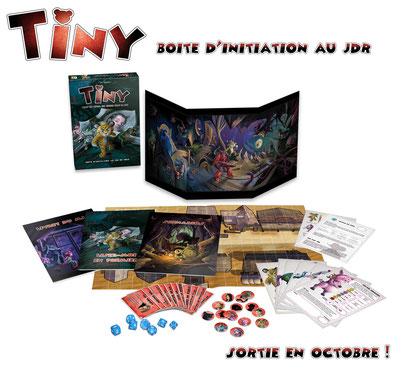 Tiny : la boîte d'initiation au jeu de rôle