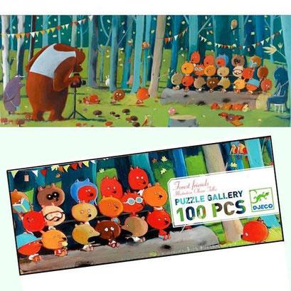 Puzzle - Les amis de la forêt